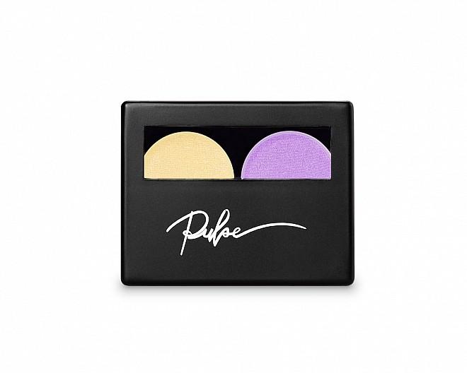 Purple Eyeshadows Duo Palette