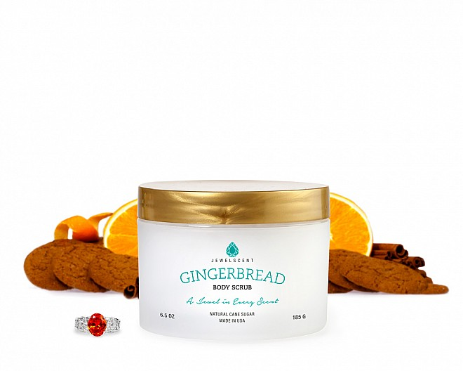 Gingerbread Jewelry Body Scrub