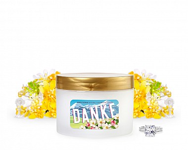 Crisp Alpine Flowers - Danke Jewelry Body Scrub