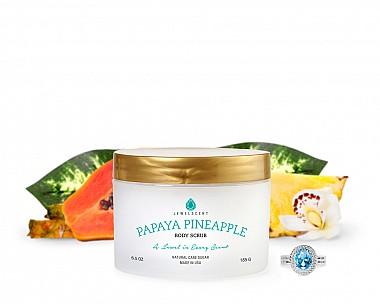 Papaya Pineapple Jewelry Body Scrub
