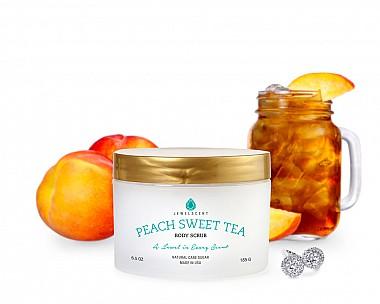 Peach Sweet Tea Jewelry Body Scrub