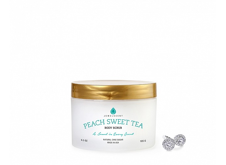 Peach Sweet Tea Jewelry Body Scrub