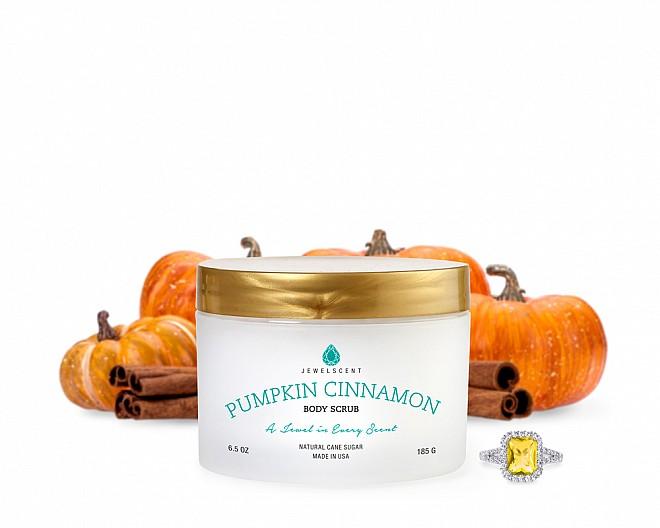 Pumpkin Cinnamon Jewelry Body Scrub