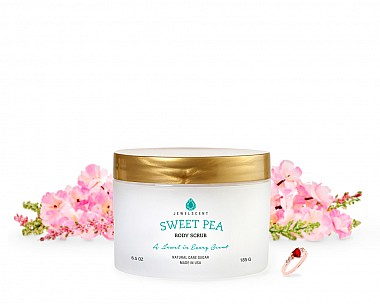 Sweet Pea Jewelry Body Scrub