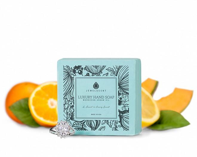 Citrus Melon Moroccan Argan Oil Jewelry Hand Soap