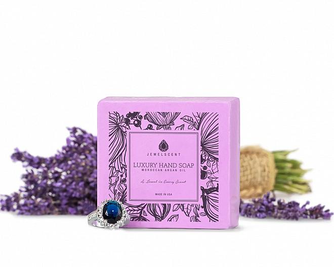 Calm Lavender Moroccan Argan Oil Jewelry Hand Soap