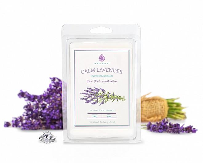 Calm Lavender Jewelry Wax Tarts
