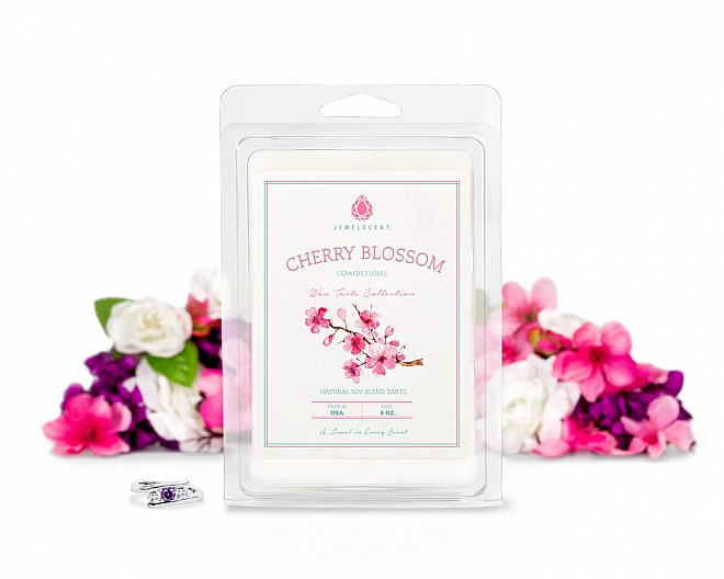 Cherry Blossom Jewelry Wax Tarts