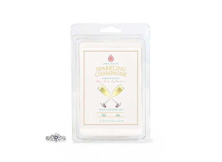Sparkling Champagne Jewelry Wax Tarts