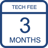 Tech Fee 90 Days